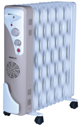 Havells OFR 11 Wave Fins with Fan Beige 2900 W